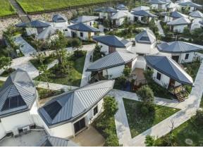 梅州五华县益塘风景区龙骨别墅酒店项目