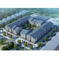 国内三层宿舍区方案设计